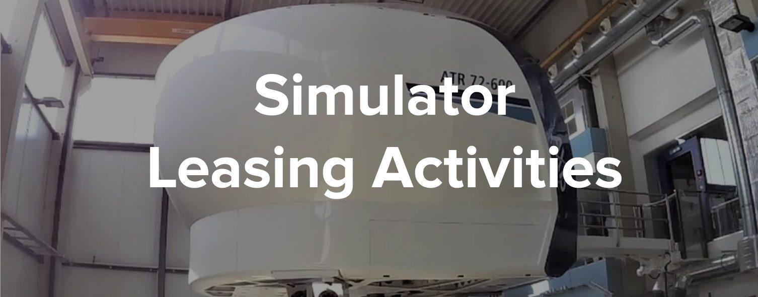 Simulator Leasing Activities