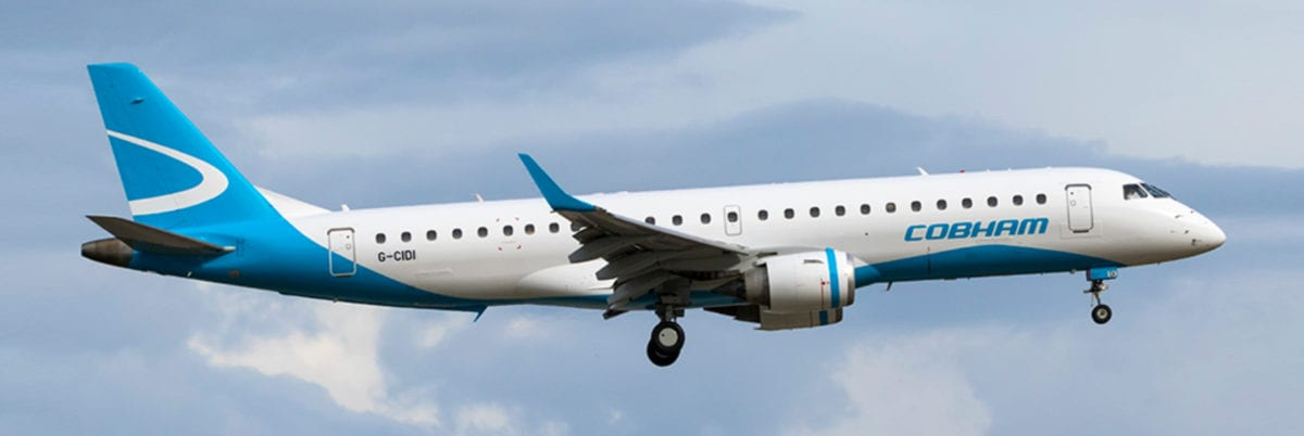 Delivering an Embraer E190 aircraft down under