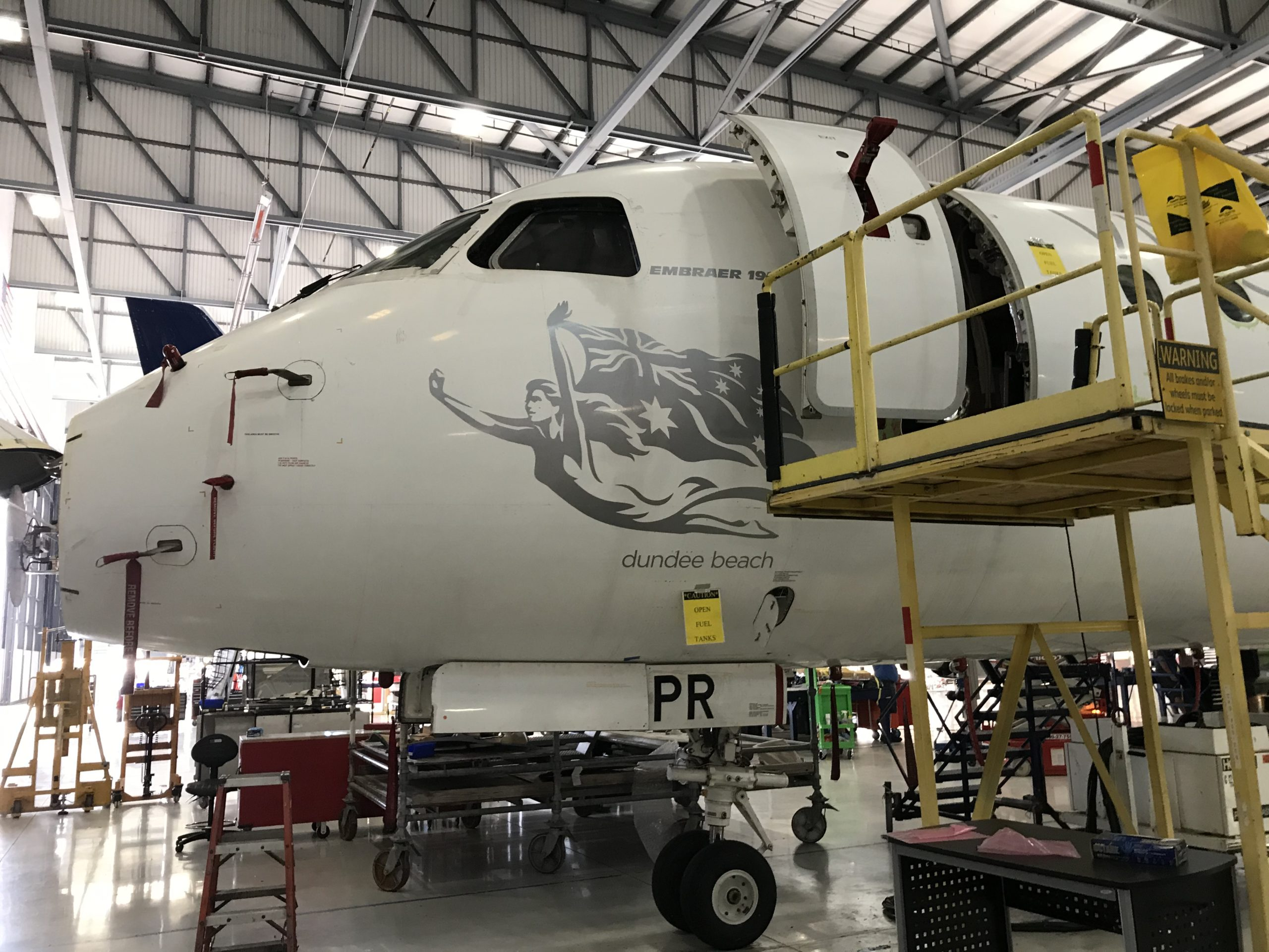 Preparing an aircraft for delivery